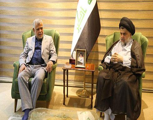 """العراق.. """"الكتلة الأكبر"""" محور لقاء الصدر والعامري"""