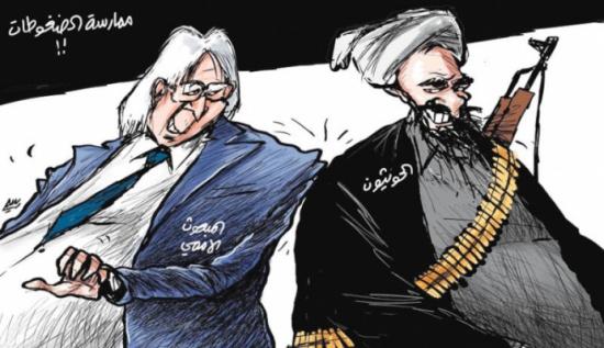 علاقة المبعوث الأممي بالحوثي