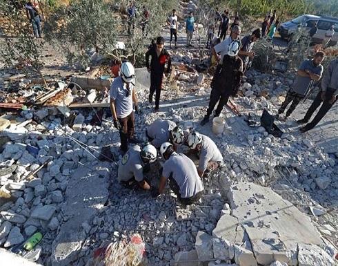 مقتل 3 أطفال ووالدتهم بقصف للنظام السوري في إدلب