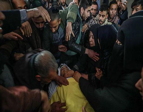 تشييع جثمان فلسطيني قتله الجيش الإسرائيلي قرب حدود غزة