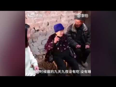 بالفيديو: صينية تحمل أمعاءها في كيس من البلاستيك منذ 20 عاماً