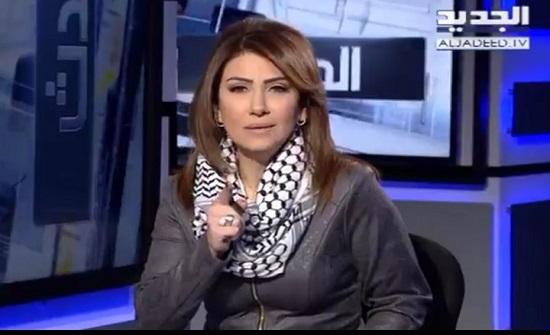 """عبارات مؤثرة عن عملية """"جلبوع"""" لمذيعة لبنانية (فيديو)"""