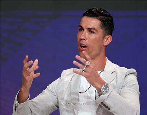 دبي جلوب سوكر.. كريستيانو رونالدو أفضل لاعب في العالم