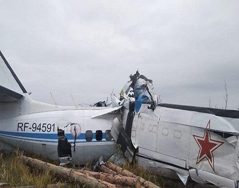 بالفيديو.. مقتل 19 شخصاً في تحطم طائرة ركاب بروسيا