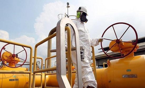 مصر تستأنف ضخ الغاز الطبيعي للأردن مطلع 2019