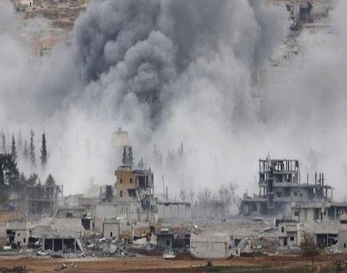 """مقتل 20 عنصراً من """"تنظيم الدولة"""" بغارات للتحالف شرقي دير الزور"""
