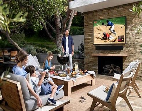 سامسونغ تفرح محبي الحدائق والشرفات بأجهزة تلفاز مميزة