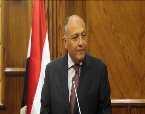 مباحثات مصرية بريطانية بشأن ليبيا وسد النهضة وفلسطين