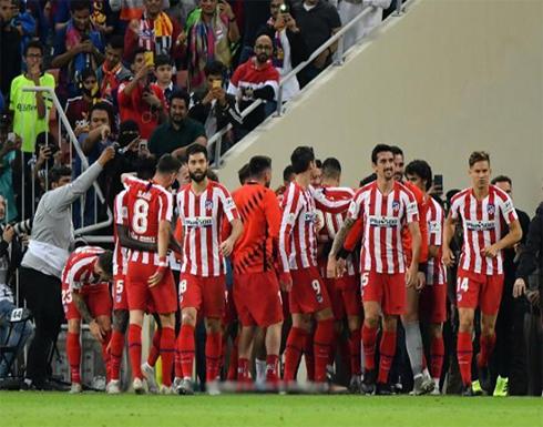 بالصور: أتلتيكو يصعق برشلونة في لقاء مجنون ويبلغ نهائي السوبر