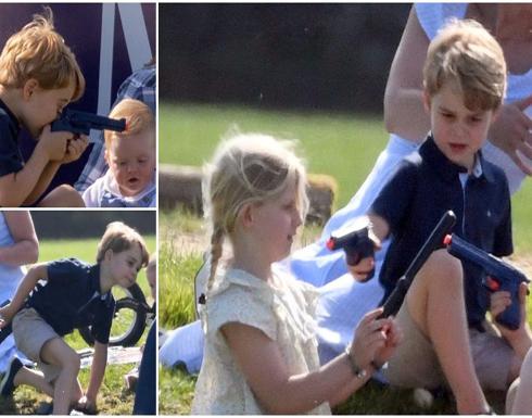 بسبب لعبة الأمير جورج الخطرة.. الأمير ويليام وزوجته يتعرضان للإنتقادات