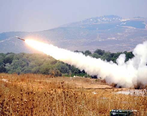 لحظة إطلاق الصواريخ من لبنان على إسرائيل .. بالفيديو