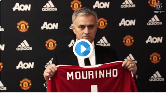 رسميا .. مورينيو مدربا للشياطين الحمر