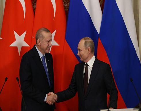 ماذا وراء إشادة بوتين بأردوغان؟