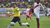 صور مباراة البيرو و كولومبيا