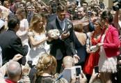 شاهد.. حفلات زفاف لاعبي كرة القدم التي أقيمت هذا الشهر