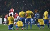 صور مباراة البرازيل وباراغواي