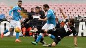 صور مباراة نابولي وكاربي