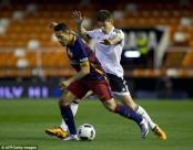 صور مباراة برشلونة وفالنسيا