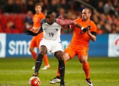 صور مباراة فرنسا وهولندا