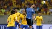 صور مباراة البرازيل والاوروغواي