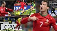 رونالدو يدمر السويد
