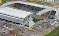 ملعب ساو باولو بعد الحادث