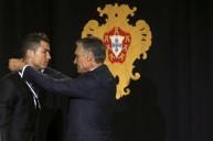 رونالدو وتكريمه في البرتغال