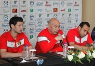 حسام حسن خلال المؤتمر الصحفي