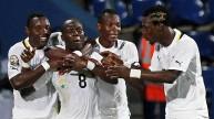لاعبي منتخب غانا