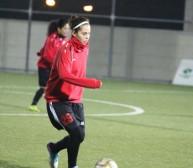هبة فخر الدين لاعبة المنتخب الاردني النسوي