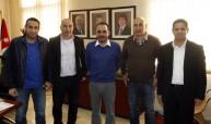 الأمير علي والجهاز الفني للمنتخب الأردني