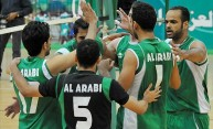 فريق العربي لكرة الطائرة - أرشيفية
