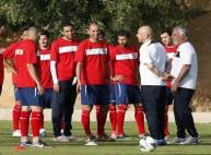 من تدريبات المنتخب الأردني