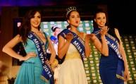 فرحة ملكة جمال مونديال 2014