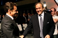 ساركوزي وبلاتيني