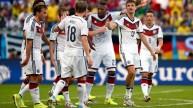 من مباراة ألمانيا والبرتغال