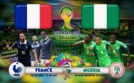 نيجيريا تواجه فرنسا
