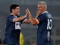 مارادونا مع باجيو