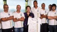 مجموعة بوم سينسو مع الرئيسة روسيف