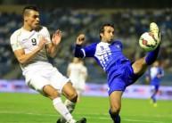 من مباراة الكويت والعراق