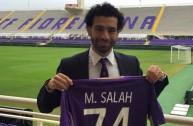 محمد صلاح لاعب فيورنتينا الجديد
