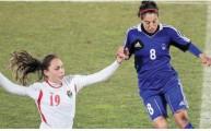 منتخب الكرة النسوي
