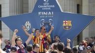 مشجعين برشلونة