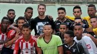راموس بين الجماهير في كوبا