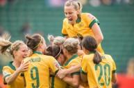فرحة لاعبات السويد
