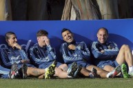 من تدريبات الأرجنتين