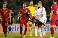 من الأحداث بين صربيا وألبانيا