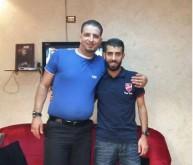 بهاء عبد الرحمن وإدار الفيصلي محمود صايل