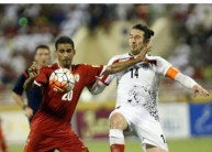 ارشيفية من مباراة عمان وايران