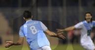 فرحة لاعبي الفيصلي بهدف الفوز على الوحدات